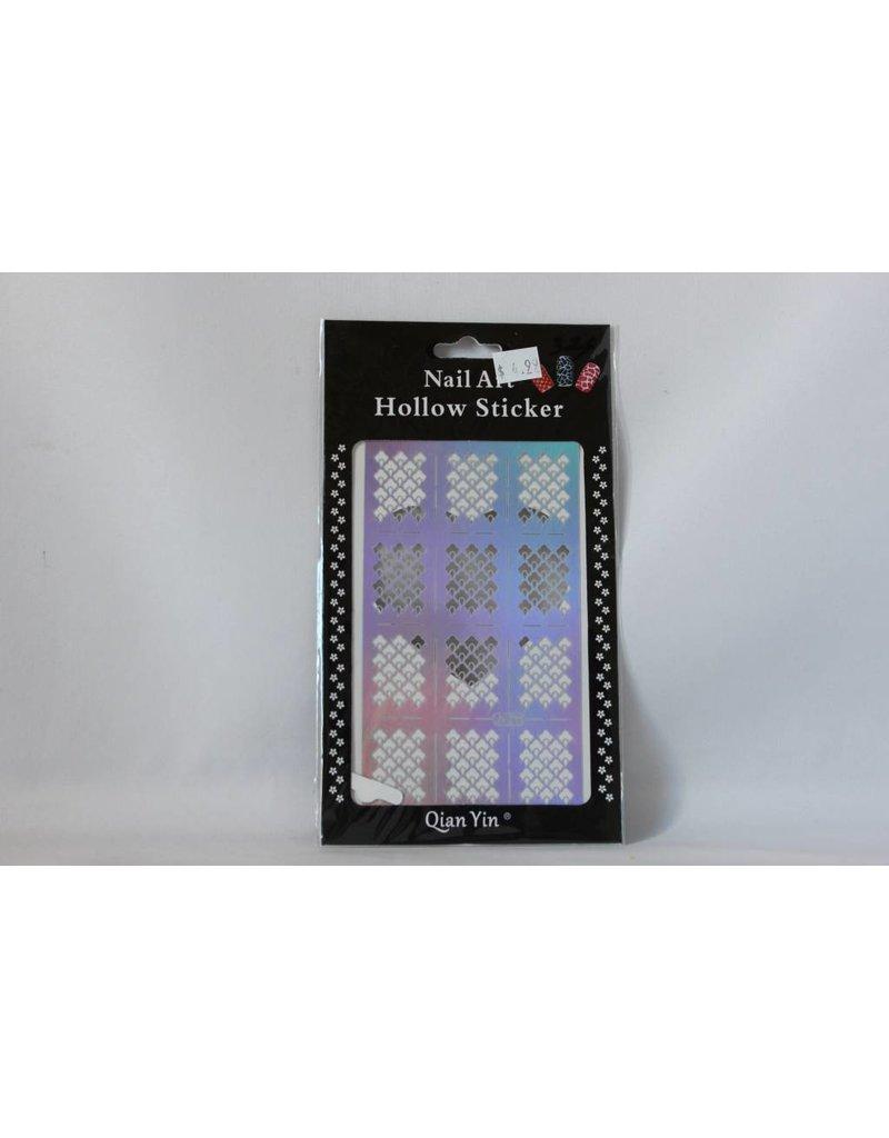 JV211 Silver (326) Nail Sticker 4.99