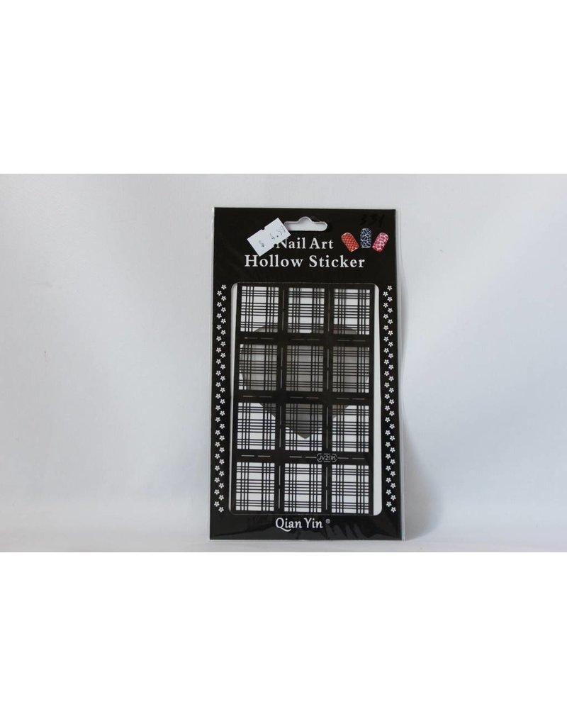 JV208 Black (331) Nail Sticker 4.99