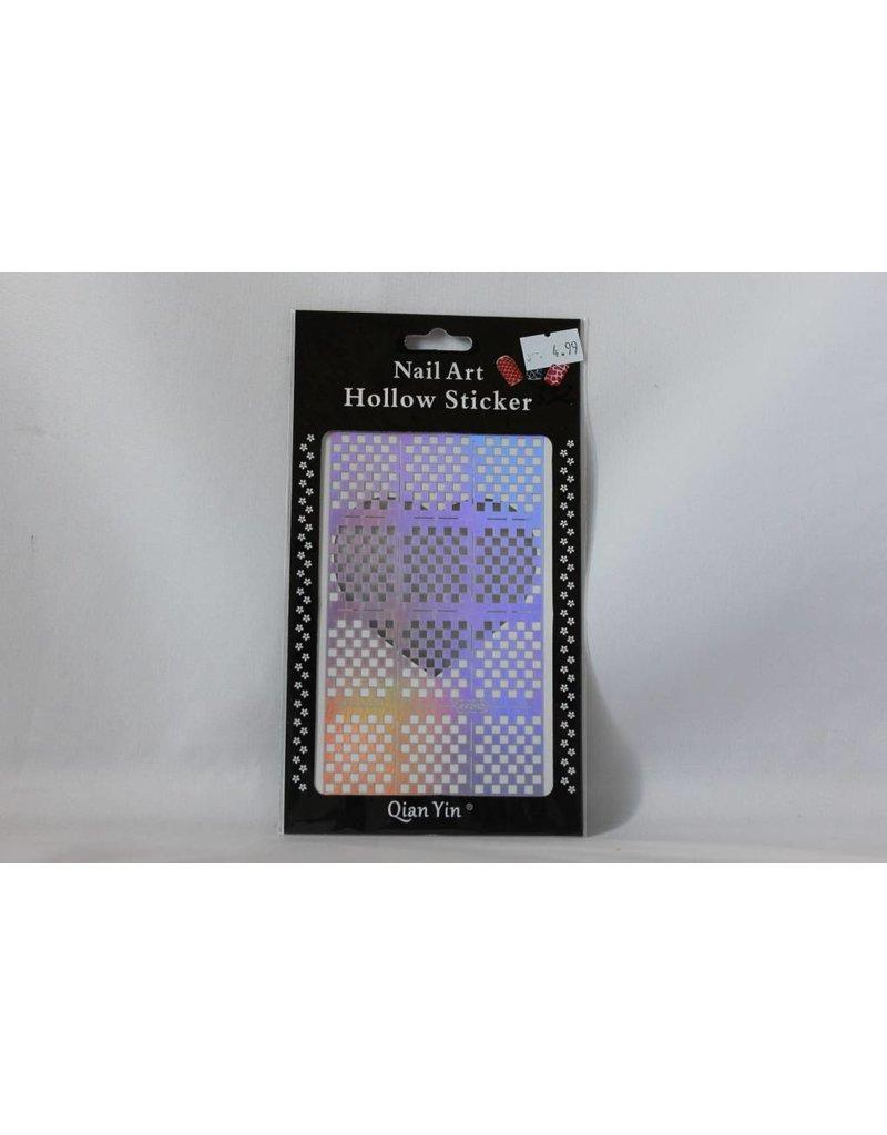 JV202 Silver (332) Nail Sticker 4.99