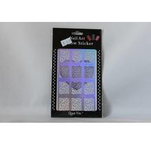 JV206 Silver (340) Nail Sticker