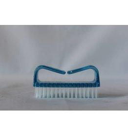 Foot brush (blue)