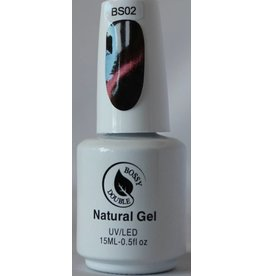Bossy Double BS02 Bossy Double Natural Gel - Cat Eyes 15 ml