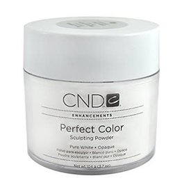 CND CND  Enhancements Perfect Color - Sculpting Powder Pure White Opaque 3.7 oz