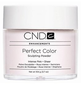 CND CND Enhancements Retention+ Powder  Sculpting Powder Intense Pink Sheer 3.7 oz