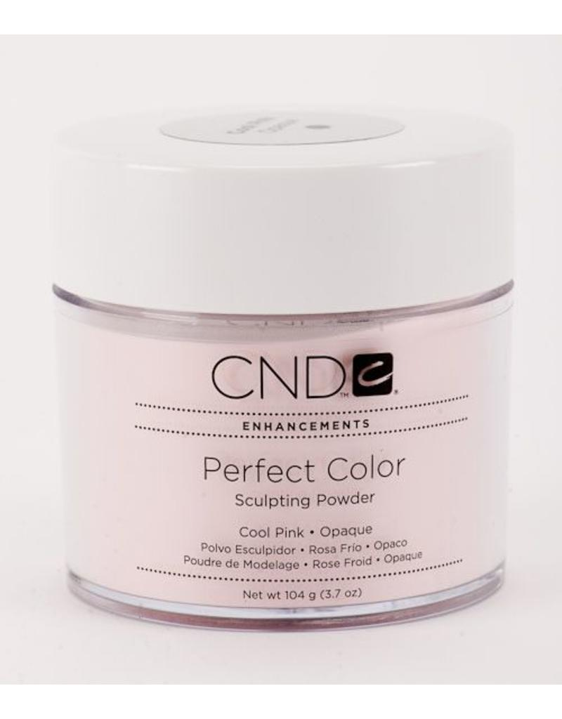 CND CND  Enhancements Perfect Color - Sculpting Powder Cool Pink Opaque 3.7 oz