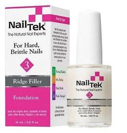 NailTek Nail Tek - Ridge Filler #3 for Hard, Brittle Nails - Foundation