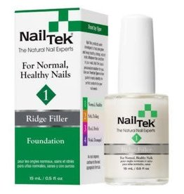 NailTek Nail Tek - Ridge Filler #1 for Normal, Healthy Nails - Foundation
