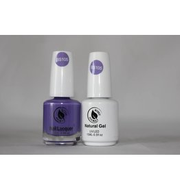 Bossy Gel Bossy Gel Duo - Gel Polish + Nail Lacquer (15 ml) # BS105