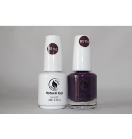 Bossy Gel Bossy Gel Duo - Gel Polish + Nail Lacquer (15 ml) # BS110