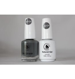 Bossy Gel Bossy Gel Duo - Gel Polish + Nail Lacquer (15 ml) # BS124