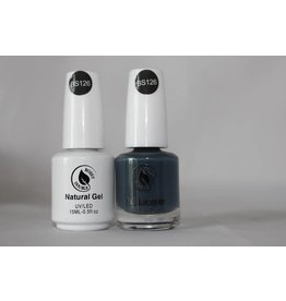 Bossy Gel Bossy Gel Duo - Gel Polish + Nail Lacquer (15 ml) # BS126