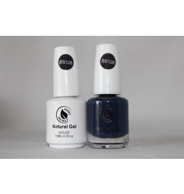 Bossy Gel Bossy Gel Duo - Gel Polish + Nail Lacquer (15 ml) # BS128