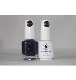Bossy Gel Bossy Gel Duo - Gel Polish + Nail Lacquer (15 ml) # BS129