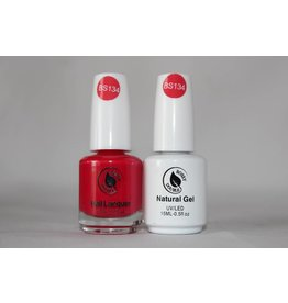 Bossy Gel Bossy Gel Duo - Gel Polish + Nail Lacquer (15 ml) # BS134