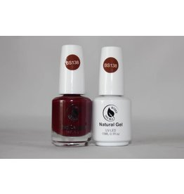 Bossy Double Bossy Double Natural Duo Gel + Lacquer 15 ml - BS138