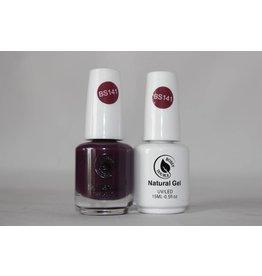 BOSSYGEL Bossy Gel Duo - Gel Polish + Nail Lacquer (15 ml) # BS141