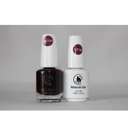 Bossy Double Bossy Double Natural Duo Gel + Lacquer 15 ml - BS144