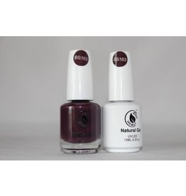Bossy Double Bossy Double Natural Duo Gel + Lacquer 15 ml - BS163