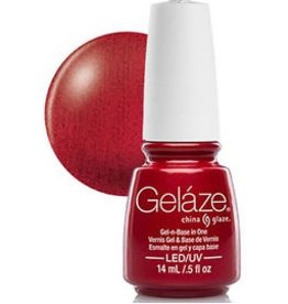 China Glaze China Glaze - Geláze Gel Polish 14ml #81635 Red Pearl