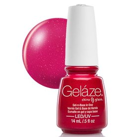 China Glaze China Glaze - Geláze Gel Polish 14ml #81810 Strawberry Fields