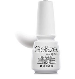 China Glaze China Glaze - Geláze Gel Polish 14ml #81614 White on White