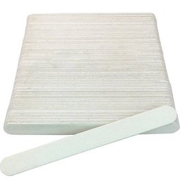 Nail File Grit 100/180 (White) 50 pcs/pack