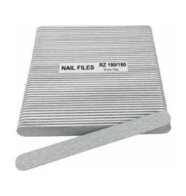 Nail File Grit 180/180 - 50 pcs/pack