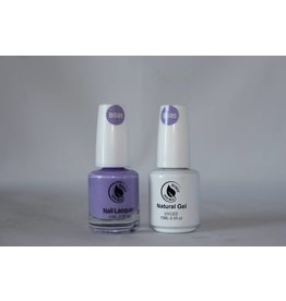 Bossy Double Bossy Double Natural Duo Gel + Lacquer 15 ml - BS95