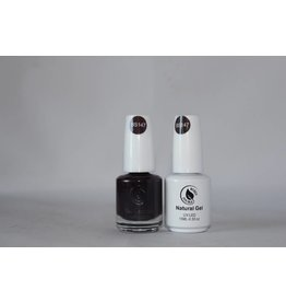 Bossy Double Bossy Double Natural Duo Gel + Lacquer 15 ml - BS147