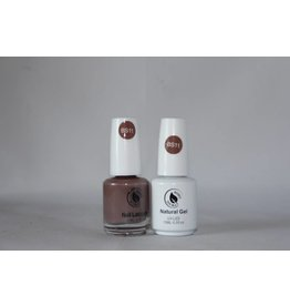 Bossy Gel Bossy Gel Duo - Gel Polish + Nail Lacquer (15 ml) # BS11