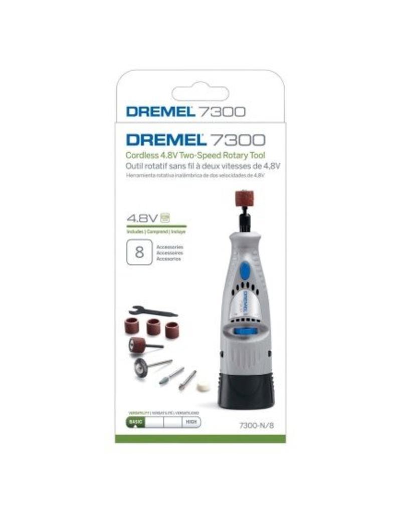 Dremel 7300 Nail Drill Cordless 4.8V Two Speed Rotary Tool