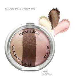 Palladio Palladio Baked Eye Shadow Trio BES12 seashell -787081