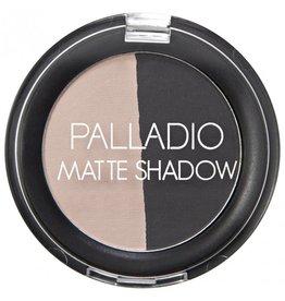 Palladio Palladio Herbal Matte Shadow Duo EDM06 Skyscraper -787310
