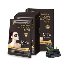 BACC Bamboo Charcoal Multi-Action Repair Eye Mask 5 pairs