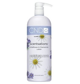 CND CND Hand & Body Scentsations Wildflower & Chamomile Lotion 917ml