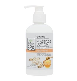 LA PALM La Palm Organic Healing Therapy Massage Lotion Honey Pearl Step 5 - 240 ml