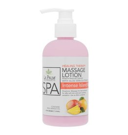 LA PALM La Palm Massage Lotion - Intense Island Mango - 8oz (240 ml)