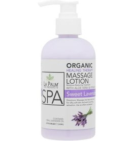 LA PALM La Palm Organic Healing Therapy Massage Lotion Sweet Lavender Dreams Step 5 - 240 ml