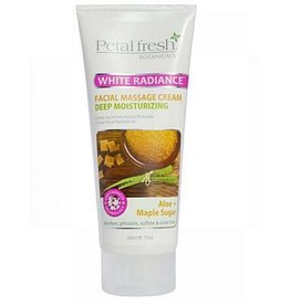 Petal Fresh Petal Fresh Botanicals White Radiance Facial Massage Cream Deep Moisturizing Aloe & Maple Sugar 200ml