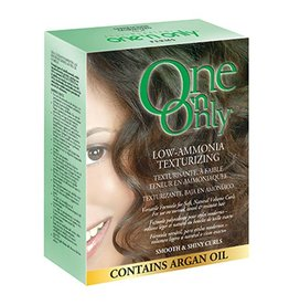 One 'n Only Low-Ammonia Texturizing - Smooth & Shiny Curls, contain Argan Oil