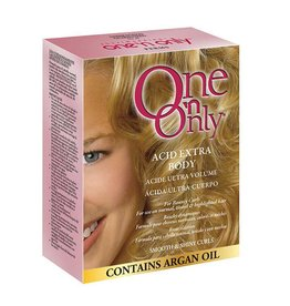 One 'n Only Perms Acid Extra Body - Smooth & Shiny Curls, contain Argan Oil
