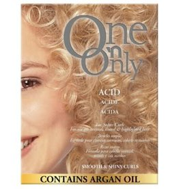 One 'n Only Perms Acid for Softer Curls - Smooth & Shiny Curls, contain Argan Oil