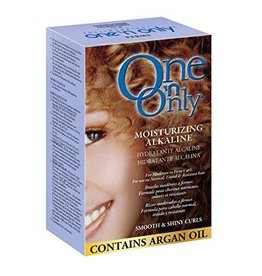 One 'n Only Perms Moiturizing Alkaline - Smooth & Shiny Curls, contain Argan Oil