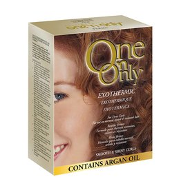 One 'n Only Perms Exothermic for Firm Curls - Smooth & Shiny Curls, contain Argan Oil