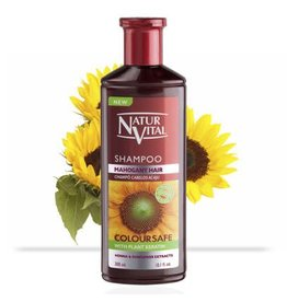 Natur Vital Shampoo Mahogany Hair Henna & Sunflower Extracts 300ml
