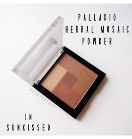 Palladio Palladio Mosaic Powder 2-in-1 Blush & Bronzer - Sun Kissed PM06