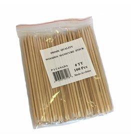 Prime Quality Wooden Manicure Stick 100 pcs/bag