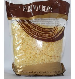 Hard Wax Beans - Hair Removal wax, without strip (light yellow color)