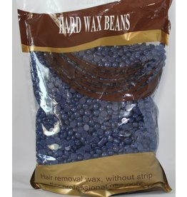 Hard Wax Beans - Hair Removal wax, without strip (dark blue color)