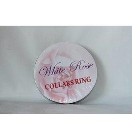 White Rose Collars Ring
